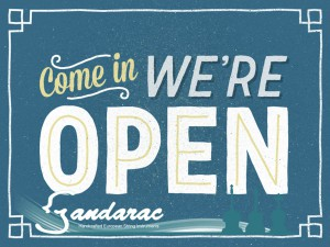 06 - we're open