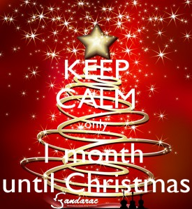 24 - 1 month to Christmas