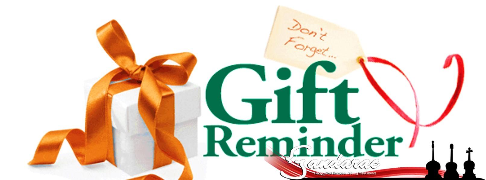 23 - gift reminder