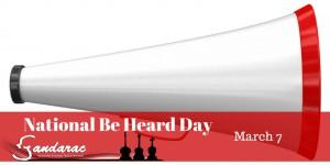 07 - Be Heard Day