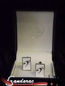 04 - bass clef cufflinks