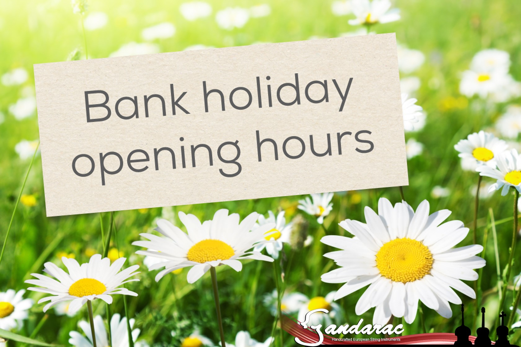 26 - bank holiday opening