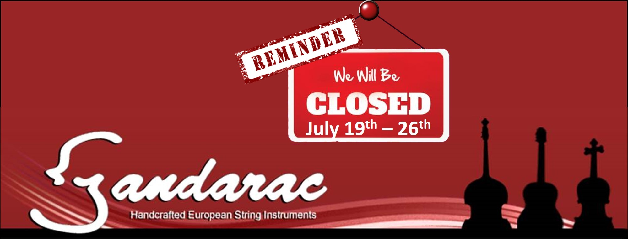 24 - reminder - closed