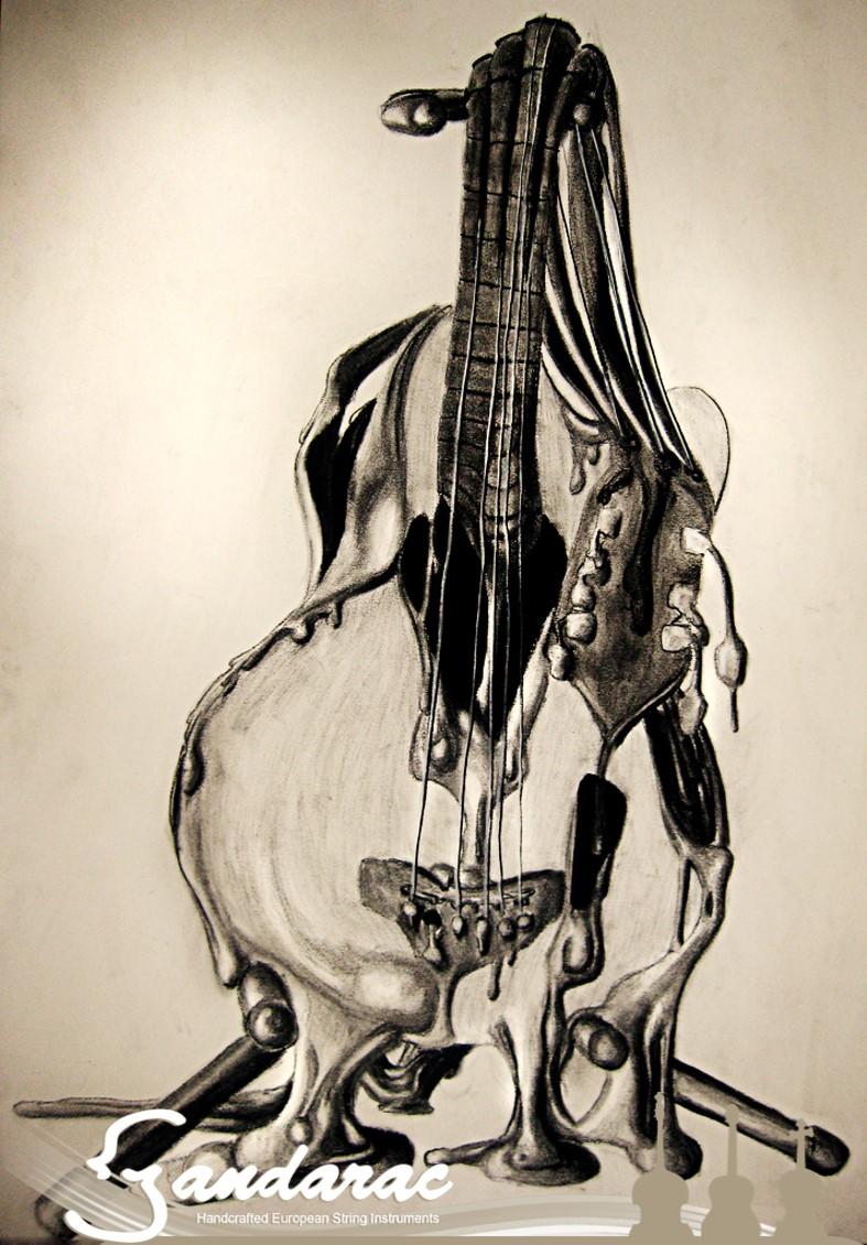 29 - melting guitar