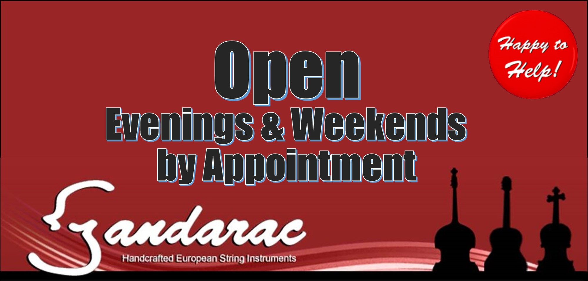 14 - open by appointment