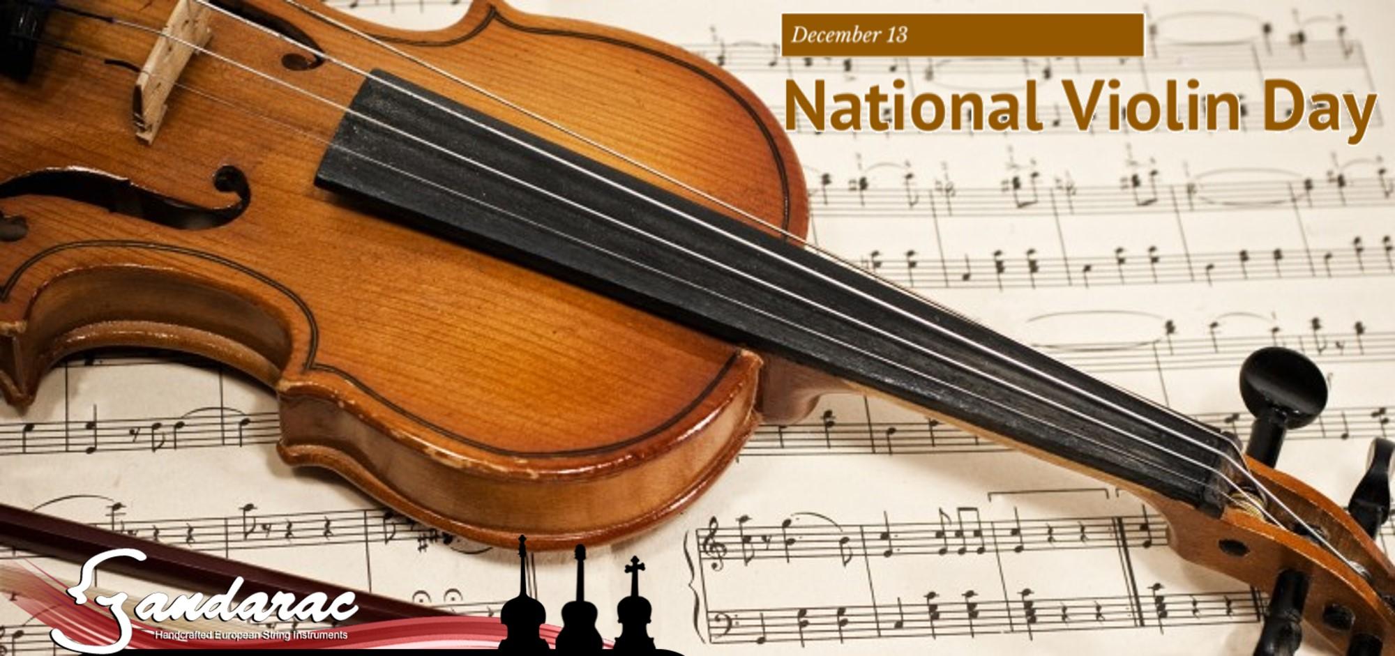 13 - national violin day