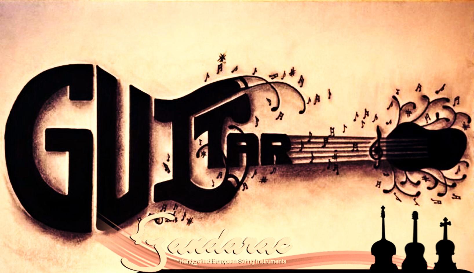 15 - guitar word