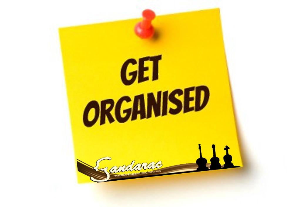 30 - get organised