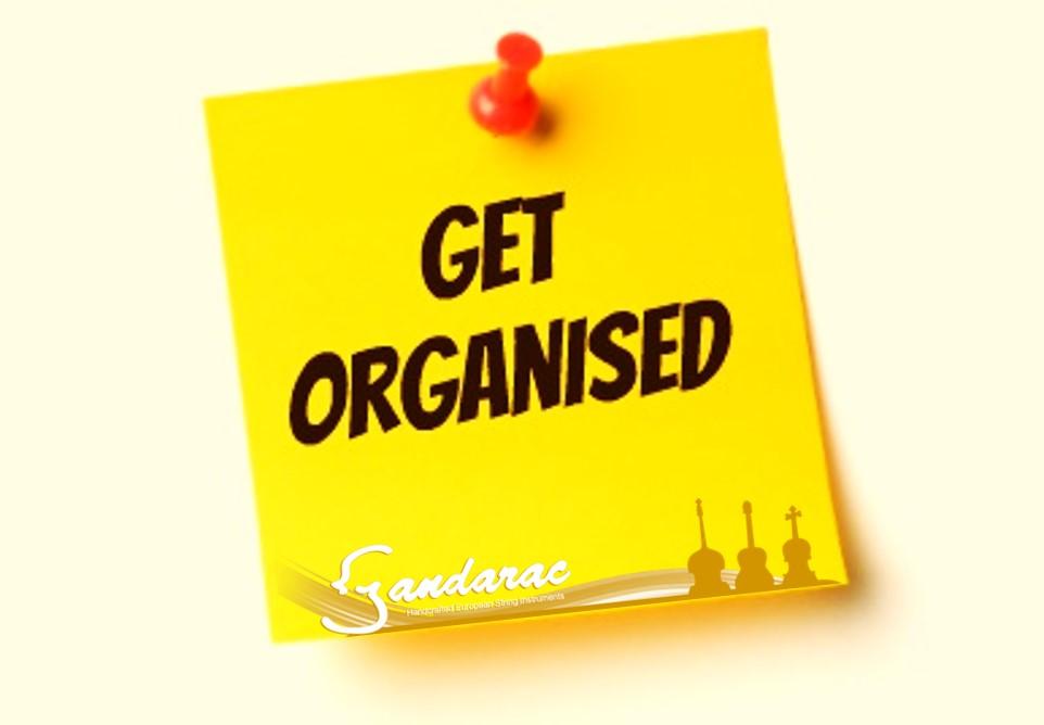 26 - get organised