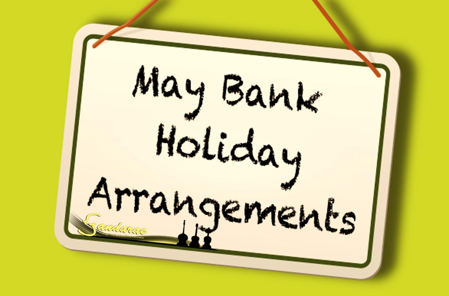 29 - may bank holiday