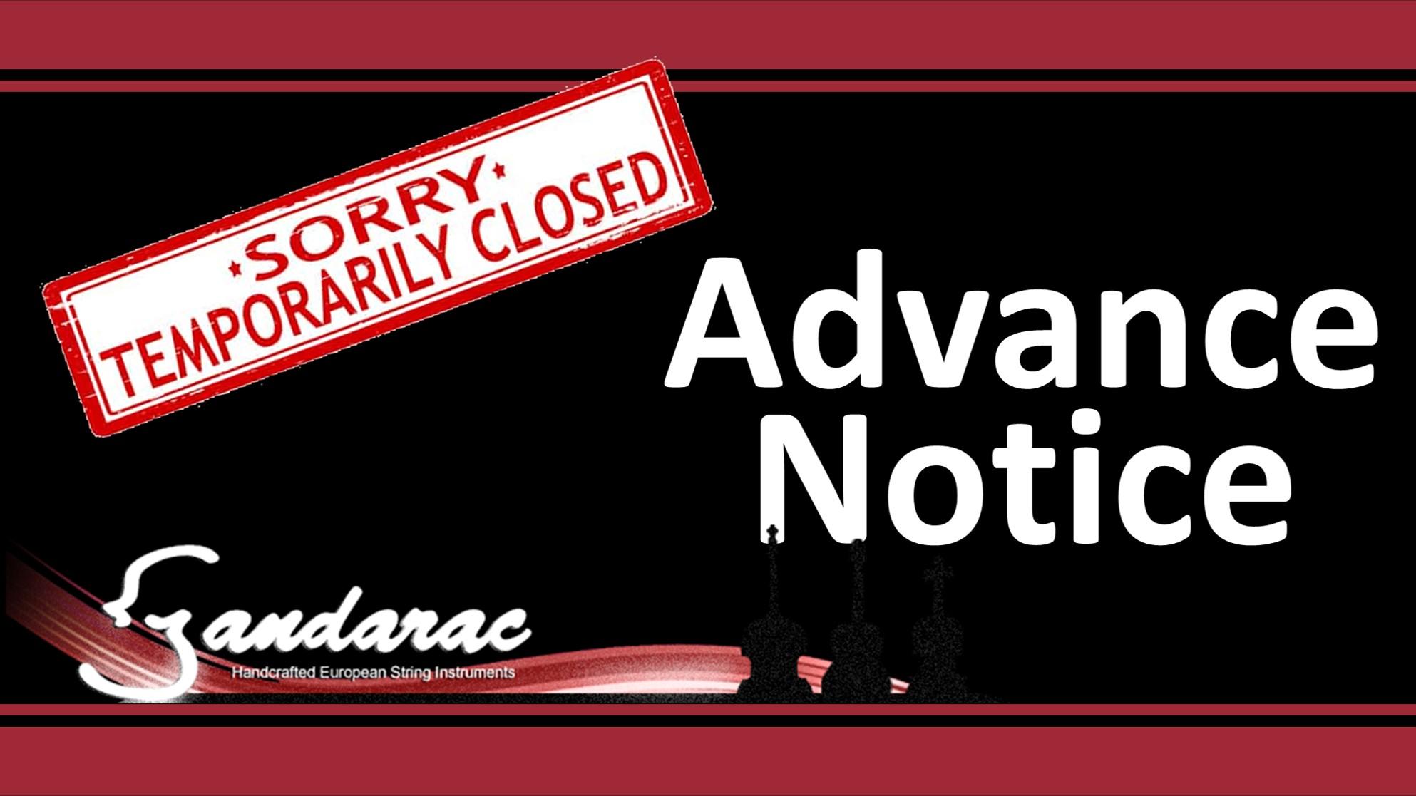 03 - advance notice