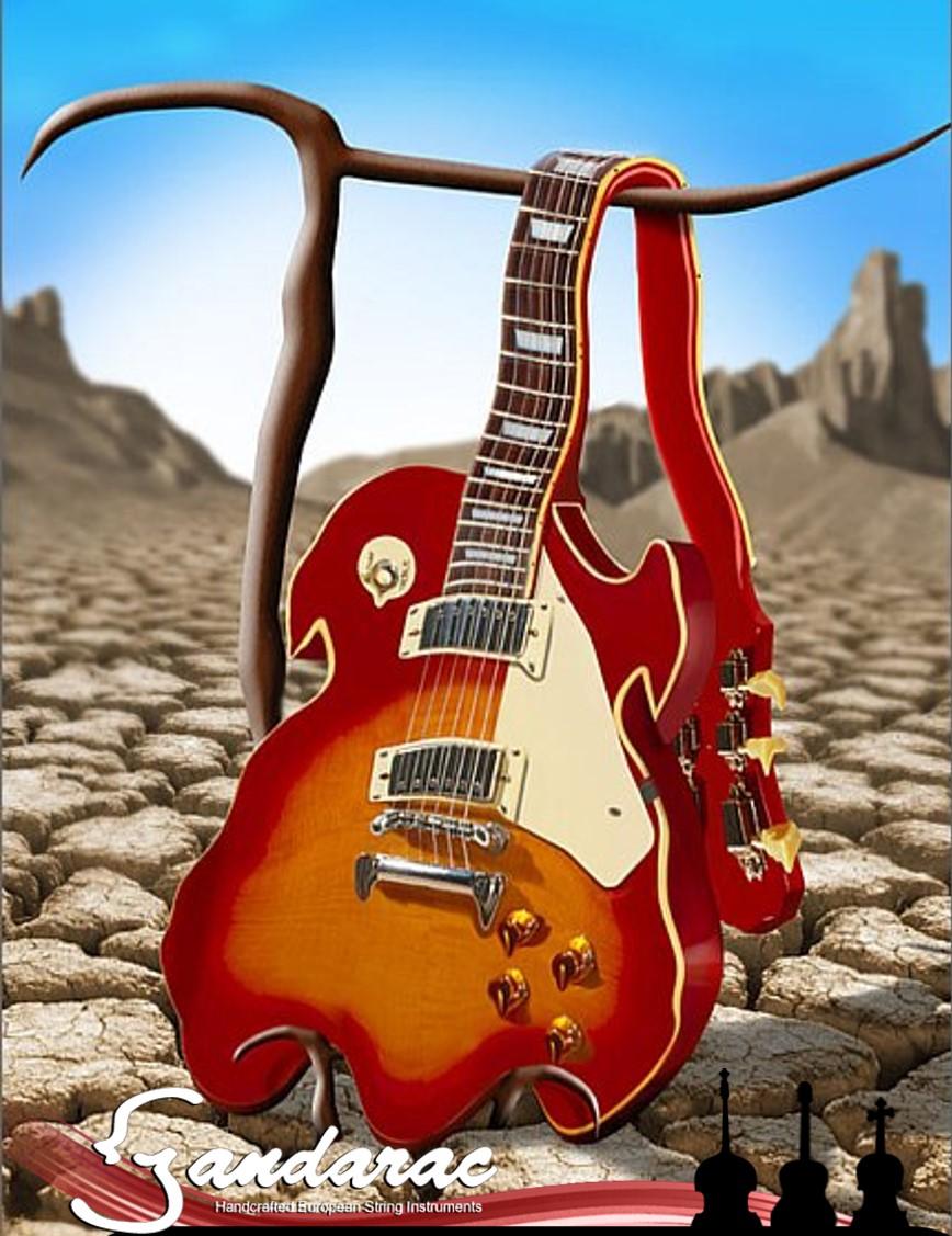 24 - melting guitar