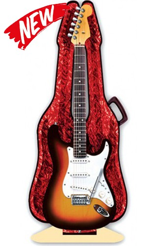 3D Greeting Card Electric Guitar