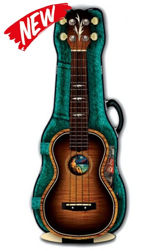 3D Greeting Card Ukulele