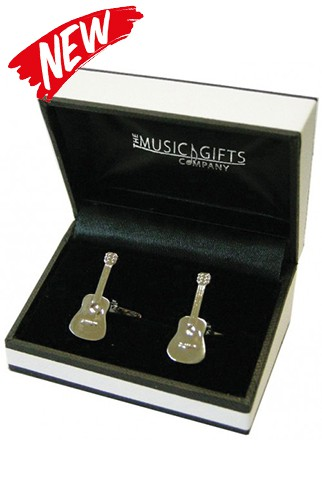 Acoustic Guitar Cufflinks