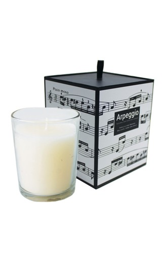 Arpeggio Scented Candle (Vanilla and Orange)
