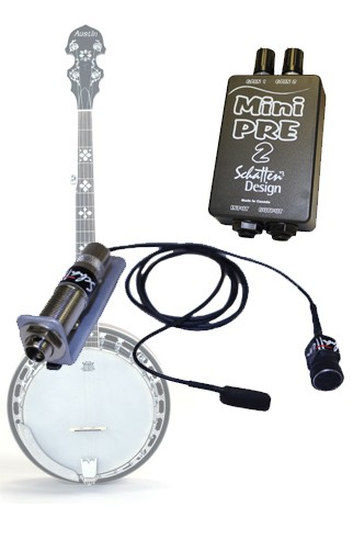 BJ-02M Banjo Mic and Pickup