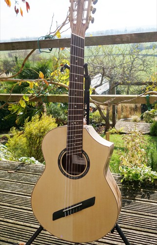 Alan Miller Fan Fret Classical Guitar