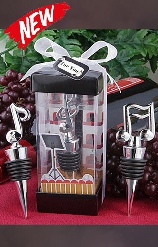 Music Symbol Wine Stopper